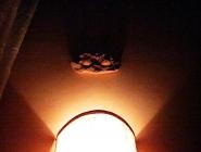 Camera a Spello panoramica con letto a baldacchino